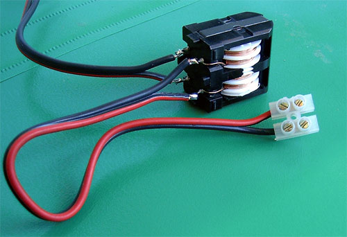 Fig.6 - Common mode balun T1