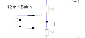 Adding an Input Balun in AAA-1 in Dipole Mode